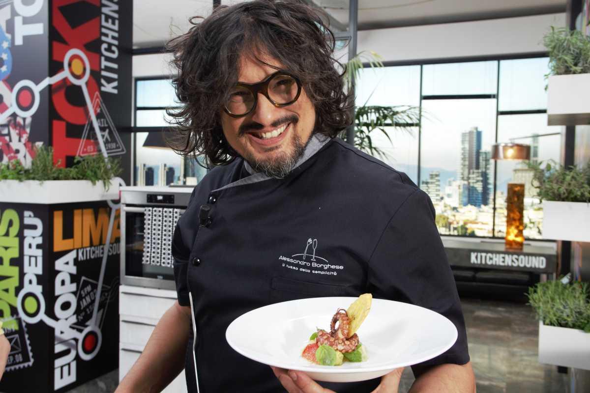 Su Sky Uno HD le ricette remix di Alessandro Borghese Kitchen Sound