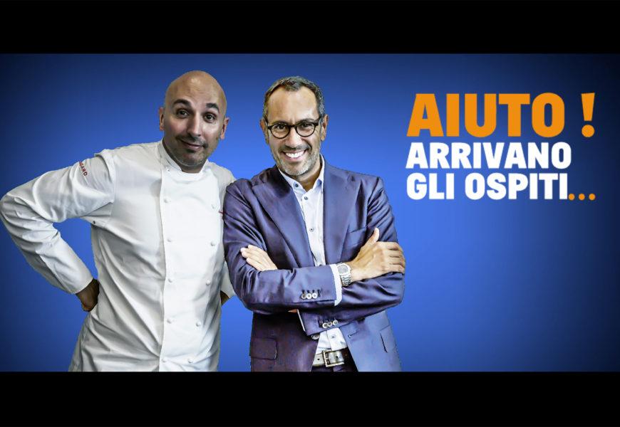 """Al via su La5 """"Aiuto! arrivano gli ospiti…"""" con Andrea Castrignano e Andrea Ribaldone"""