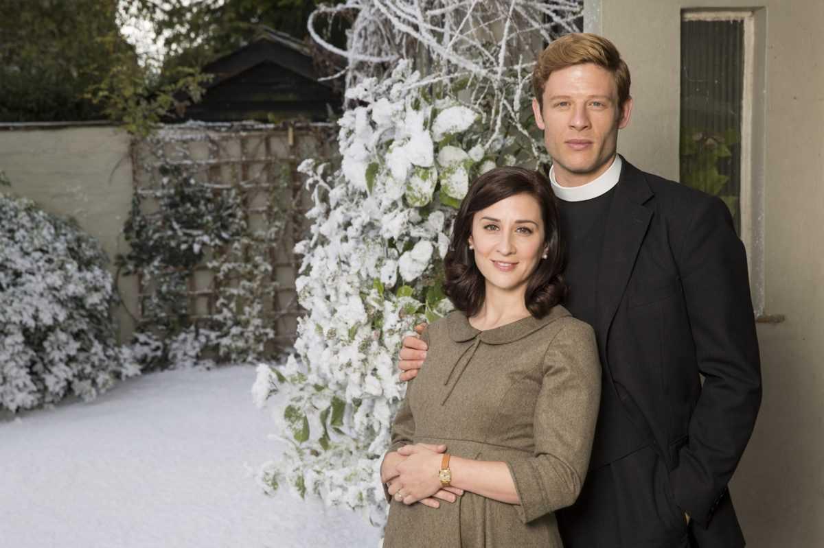 """Su Giallo Natale nel crimine con la terza stagione di """"Grantchester"""""""