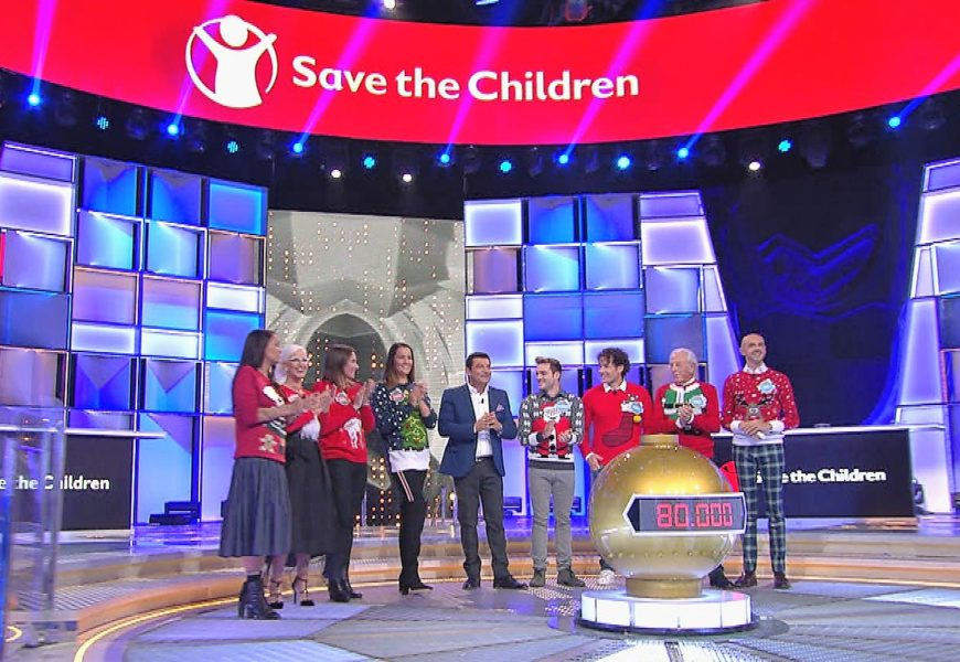 """Su NOVE """"Boom Celebrity"""" a favore di Save the Children"""