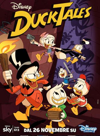 """Il 26 Novembre arriva """"Ducktales"""" su Disney Channel"""