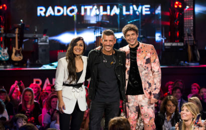 "Su Real Time ""Radio Italia Live"" con Francesco Gabbani"