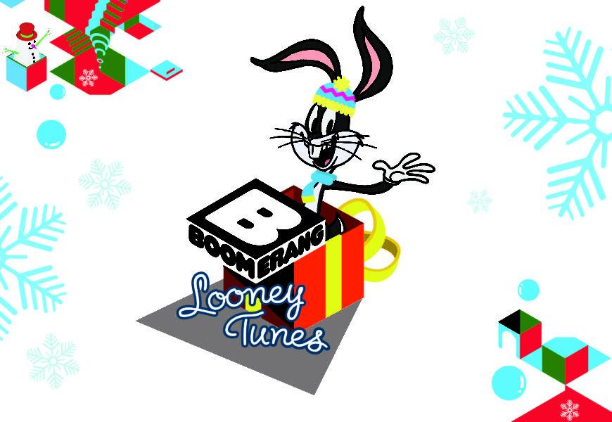 Sul canale 610 di Sky dall'11 al 17 Dicembre si accende Boomerang Looney Tunes