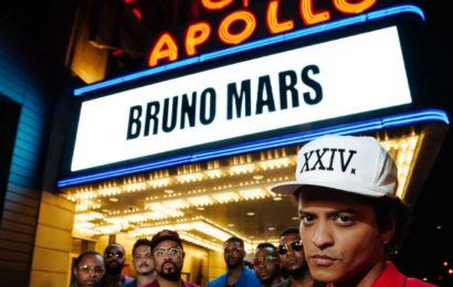 """Il concerto di Bruno Mars """"24K Magic live at the Apollo"""" su Sky Uno HD"""