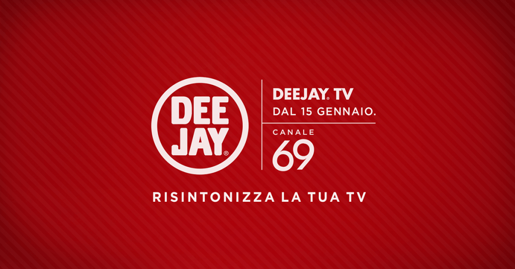 Attivata Deejay TV sul canale 69 del digitale terrestre