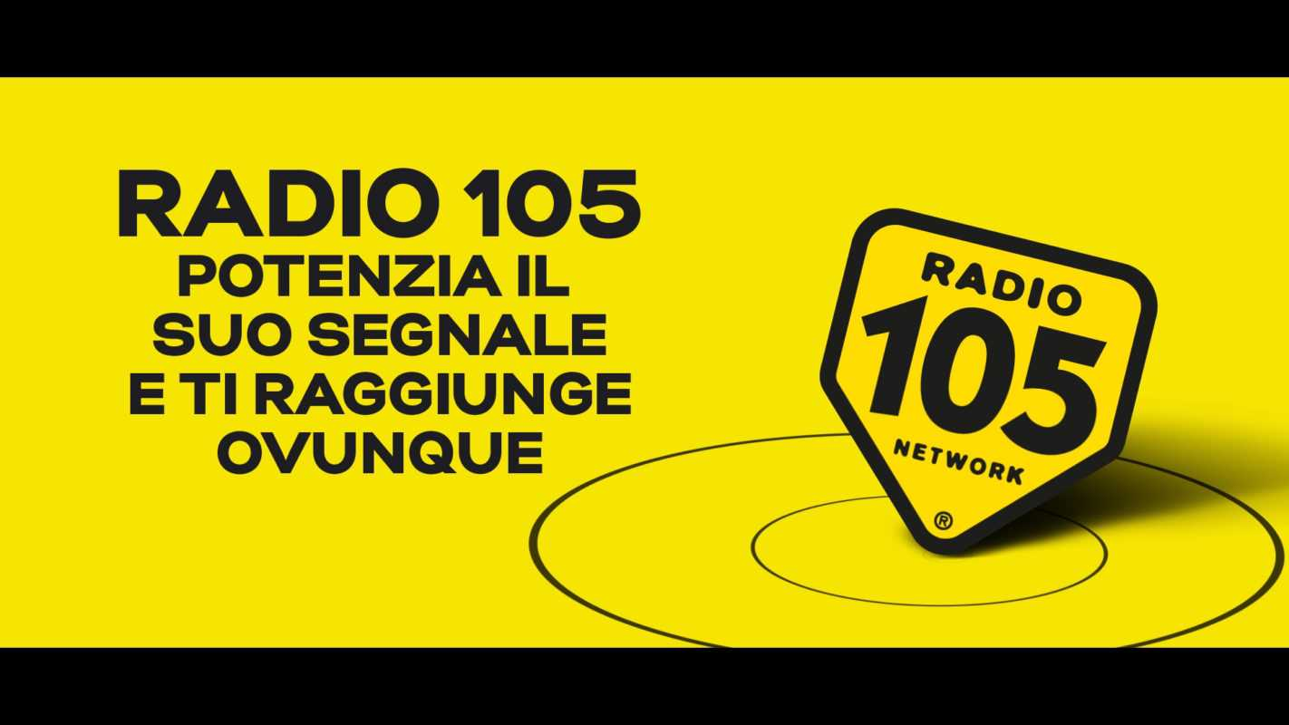 RadioMediaset investe in nuove frequenze e potenzia il segnale di Radio 105