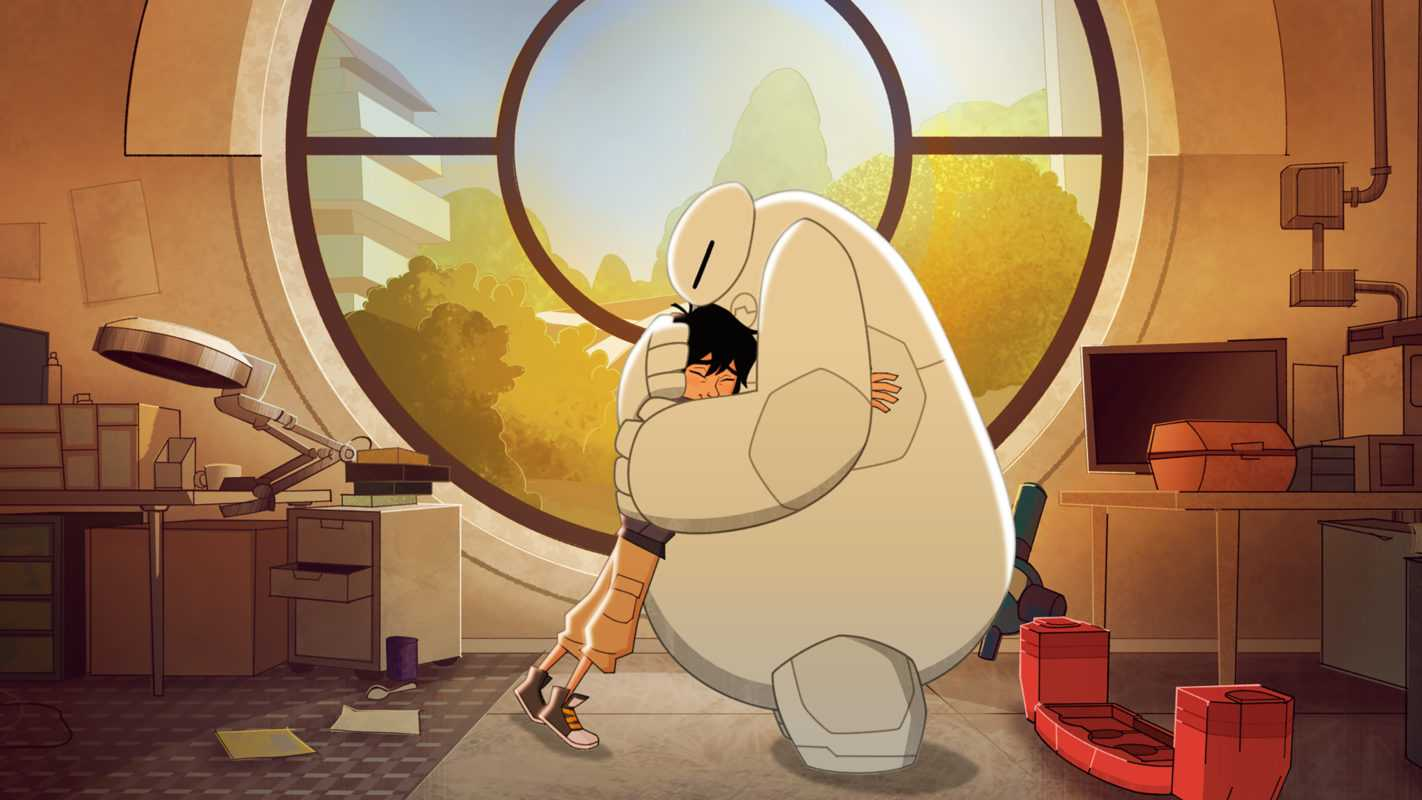 "BIG HERO 6 - ""Baymax Returns"" (Disney XD) HIRO HAMADA, BAYMAX"