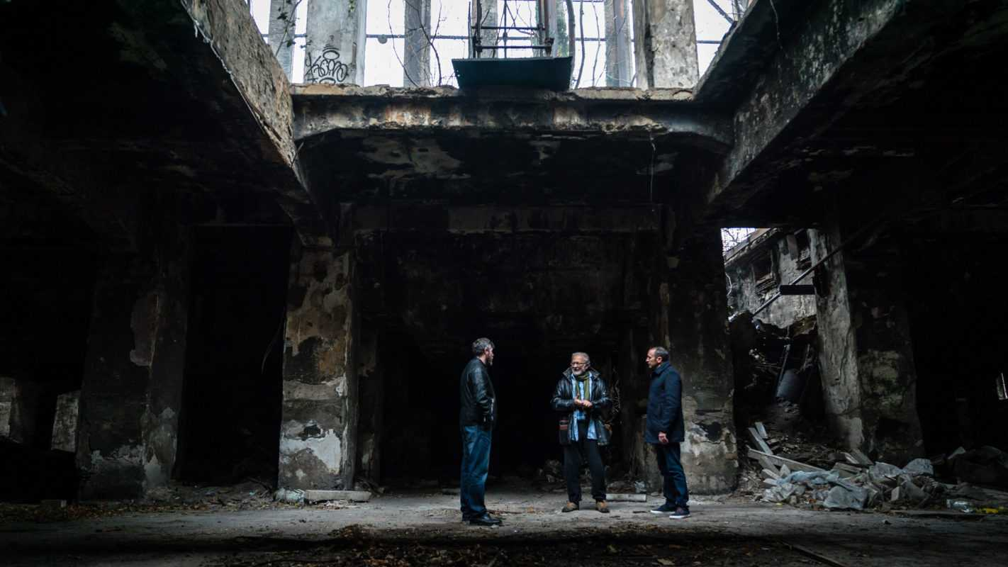 Jack Murphy (left), Velemir Markovic (center) and Cameron Prince (right).