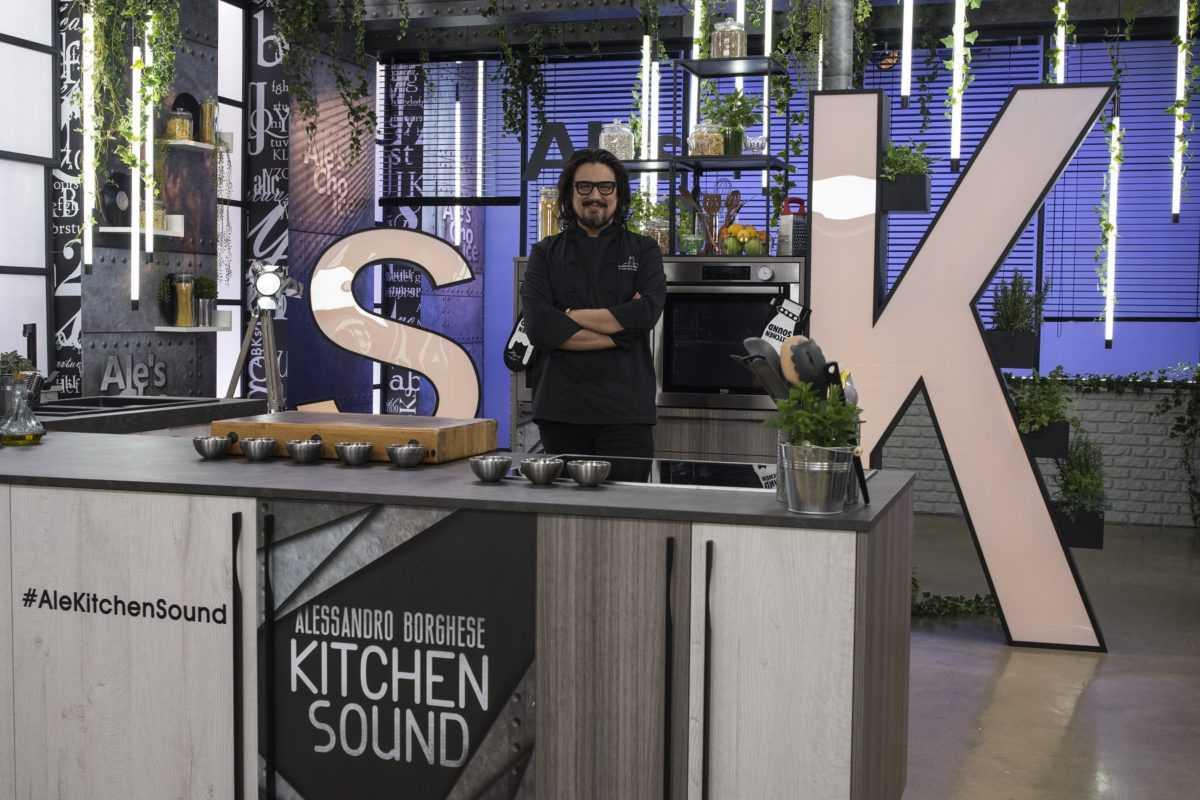 Al via la nuova edizione di Alessandro Borghese Kitchen Sound su Sky Uno HD