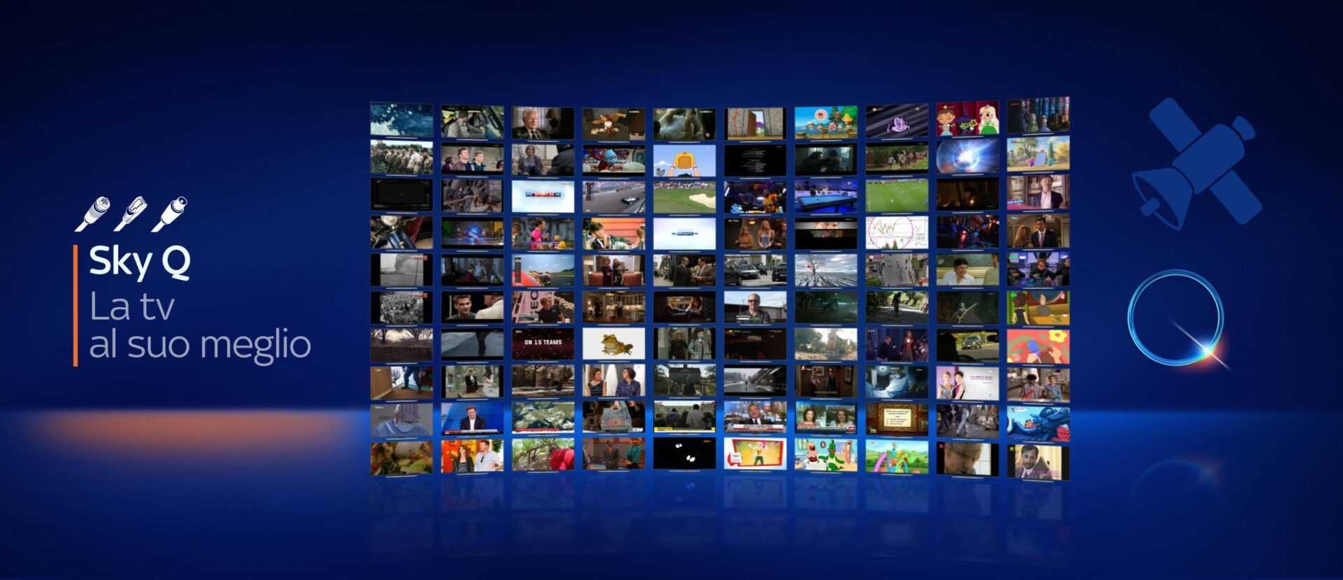 Sky va oltre ogni piattaforma: per la prima volta si potrà accedere a offerte Sky anche sul digitale terrestre e via fibra