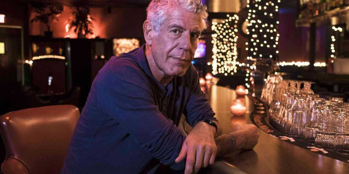 July 26, 2017: Anthony Bourdain at the Shanghai Room and Northstar Diner while filming Parts Unknown in Seattle, Washington on July 26, 2017. (photo by David Scott Holloway)