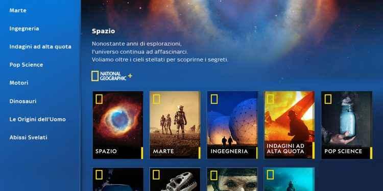 Nasce National Geographic +, su Sky On Demand