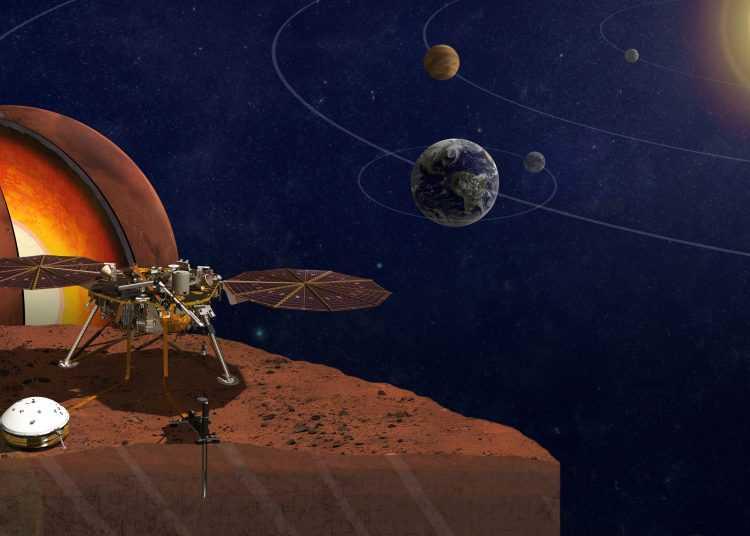 """Focus: giornata-evento per l'Ammartaggio della sonda """"Insight"""" lunedì 26 novembre"""