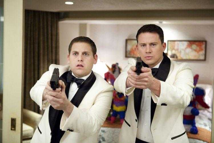 """Jonah Hill, left, and Channing Tatum in Columbia Pictures' """"21 Jump Street."""""""