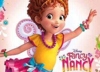"""FANCY NANCY - """"Fancy Nancy"""" key art. (Disney Junior)"""