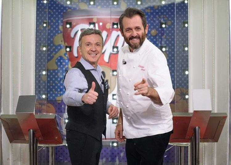 "Pupo torna in tv con Chef Tomei con il cooking show ""Pupi & fornelli"""