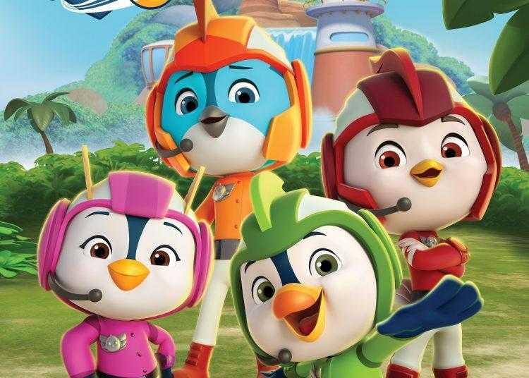 Top Wing approda su Cartoonito in prima tv free