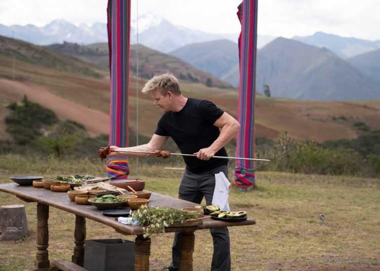 Su National Geographic Il viaggio gastronomico di Gordon Ramsey: fuori menù
