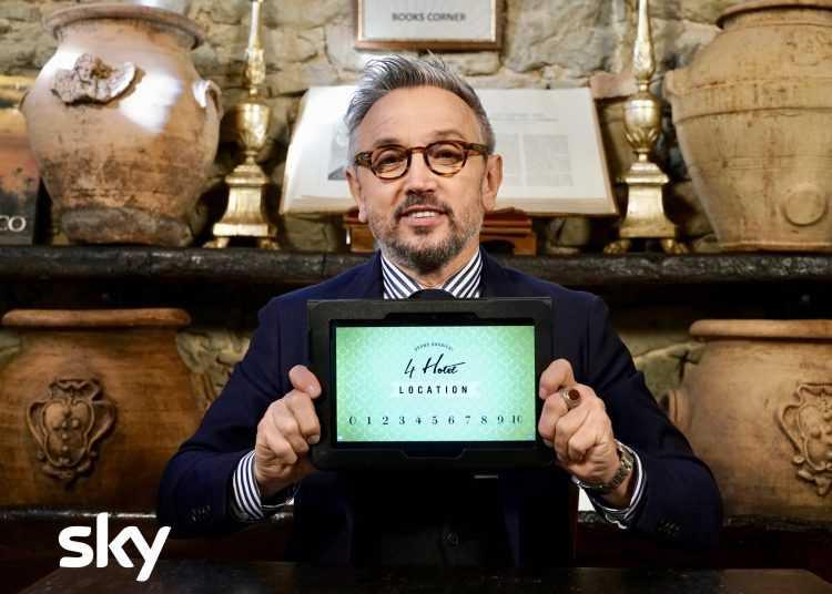 Arriva su TV8 la seconda edizione di Bruno Barbieri 4 Hotel