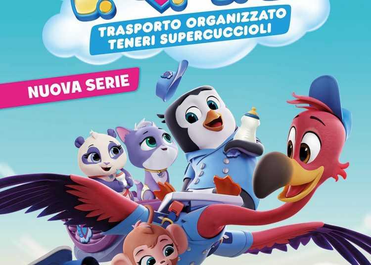 T.O.T.S Trasporto organizzato teneri supercuccioli arriva su Disney Junior