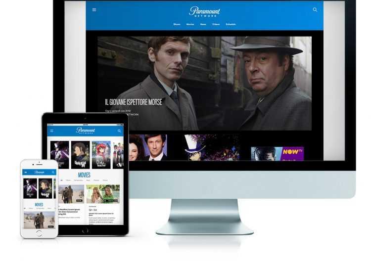 Attiva la nuova piattaforma web che aggrega l'offerta VOD di Paramount Network, Spike e VH1