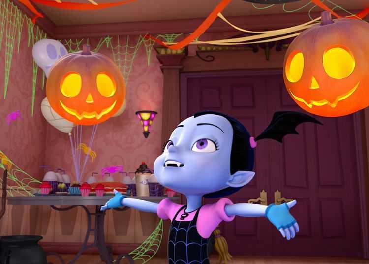 Disney Junior festeggia Halloween con Vampirina