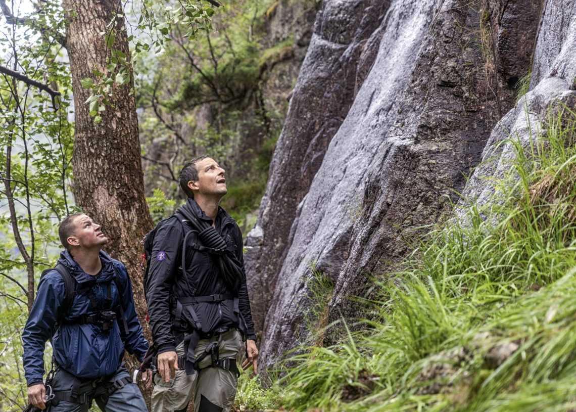 "Su National Geographic arriva ""Bear Grylls: Celebrity edition"""