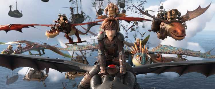 """Venture once more to the mythical Viking village of Berk for """"How to Train Your Dragon 3,"""" the third and final chapter of DreamWorks' hit franchise about the young Viking, Hiccup, and his dragon, Toothless. Now the leaders of their respective clans, Hiccup and Toothless face new challenges in the culmination of their story. The returning voice cast includes Jay Baruchel as Hiccup, America Ferrera as Astrid, and Cate Blanchett as Valka. The third installment is once again directed by Dean DeBlois, the writer/director of the first two films in the series, which garnered three Oscar® nominations and more than $1 billion at the global box office."""