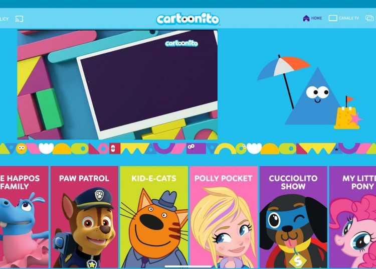 Sulla Cartoonito app arriva la sezione dedicata ai giochi