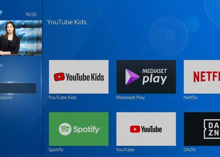 Su Sky Q arriva l'app YouTube Kids