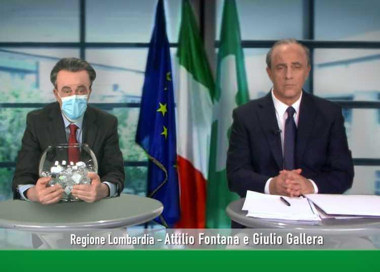 """Nove: """"Fratelli di Crozza"""" torna con la spumeggiante coppia della politica lombarda Fontana - Gallera"""