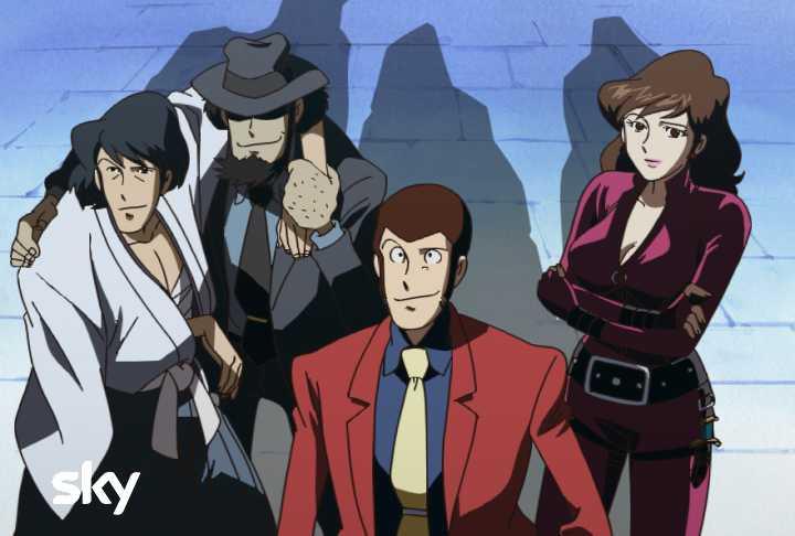 Sky Atlantic Lupin III: sul canale 111 di Sky le migliori avventure del ladro gentiluomo più famoso al mondo