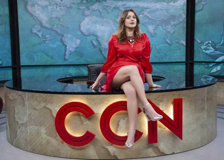 Michela Giraud conduce la sesta stagione di CCN-Comedy Central News