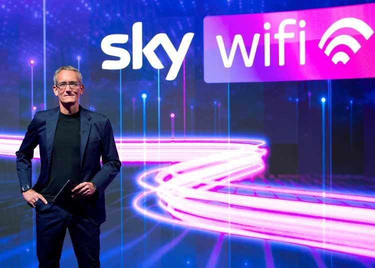 Oggi nasce SKY WIFI, la fibra di Sky che cambia il modo di vivere la connettività