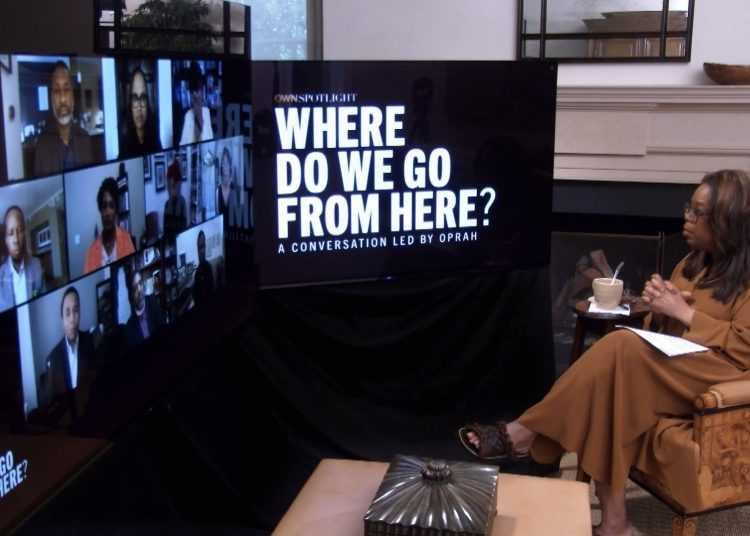 Oprah Winfrey su Dplay con lo speciale dedicato al caso George Floyd